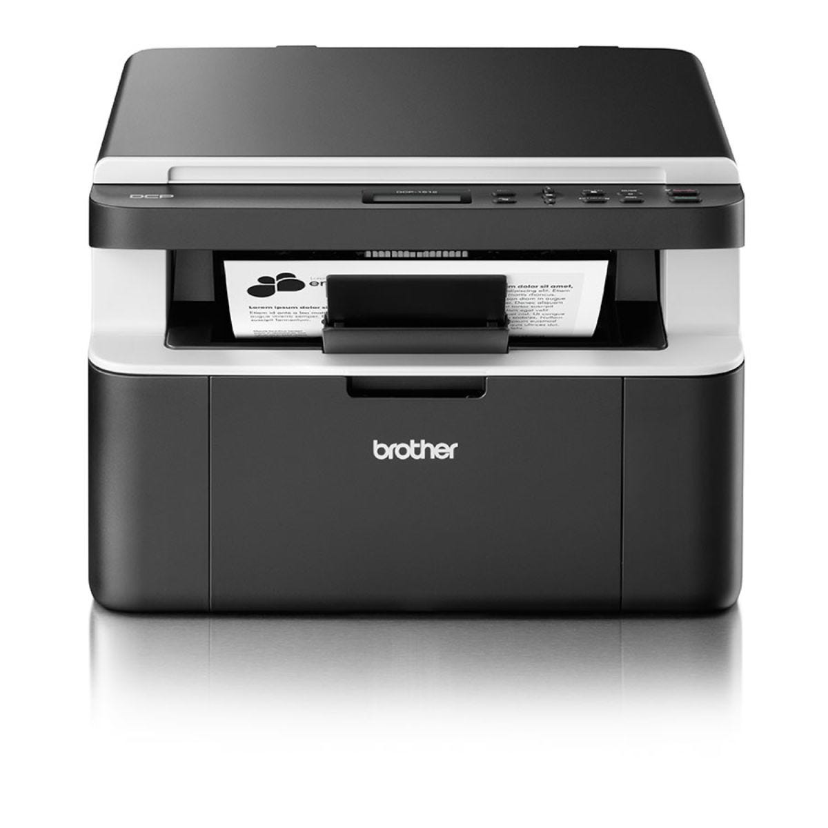 Brother DCP-1512 Compact All-In-One Mono Laser Printer