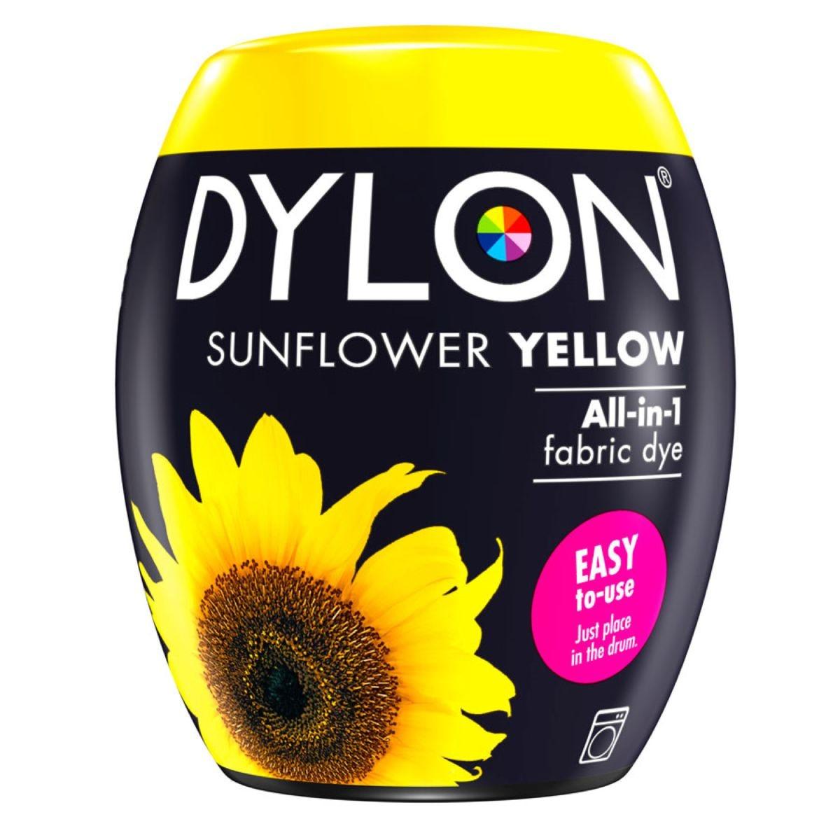 Dylon Machine Dye Pod 05 – Sunflower Yellow