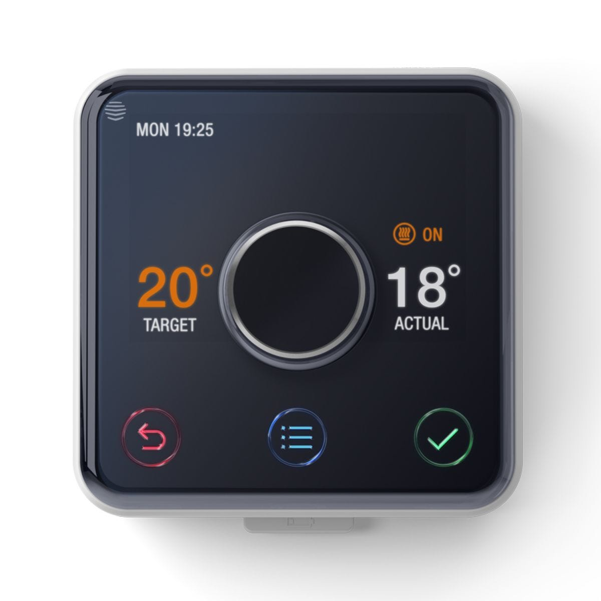Hive Active Heating & Hot Water Thermostat with Professional Installation - Black
