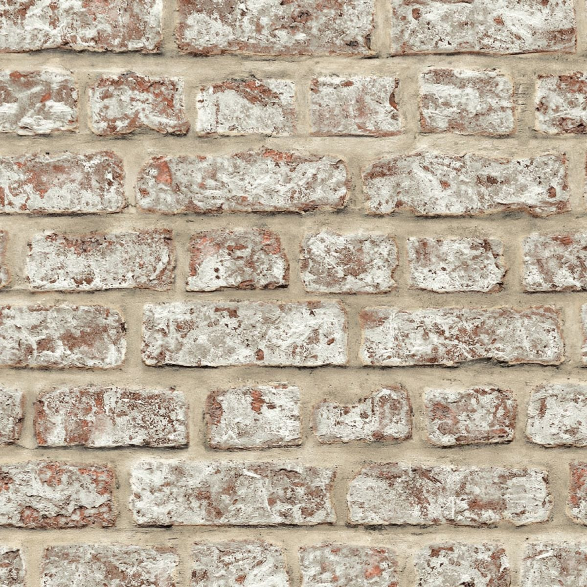Arthouse Rustic Brick Wallpaper – Neutral