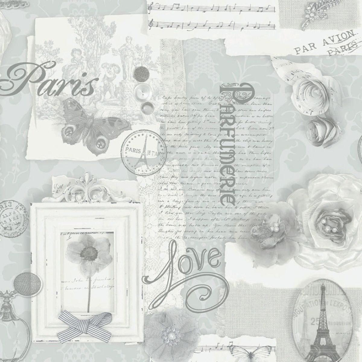 Arthouse Felicity Wallpaper – Silver