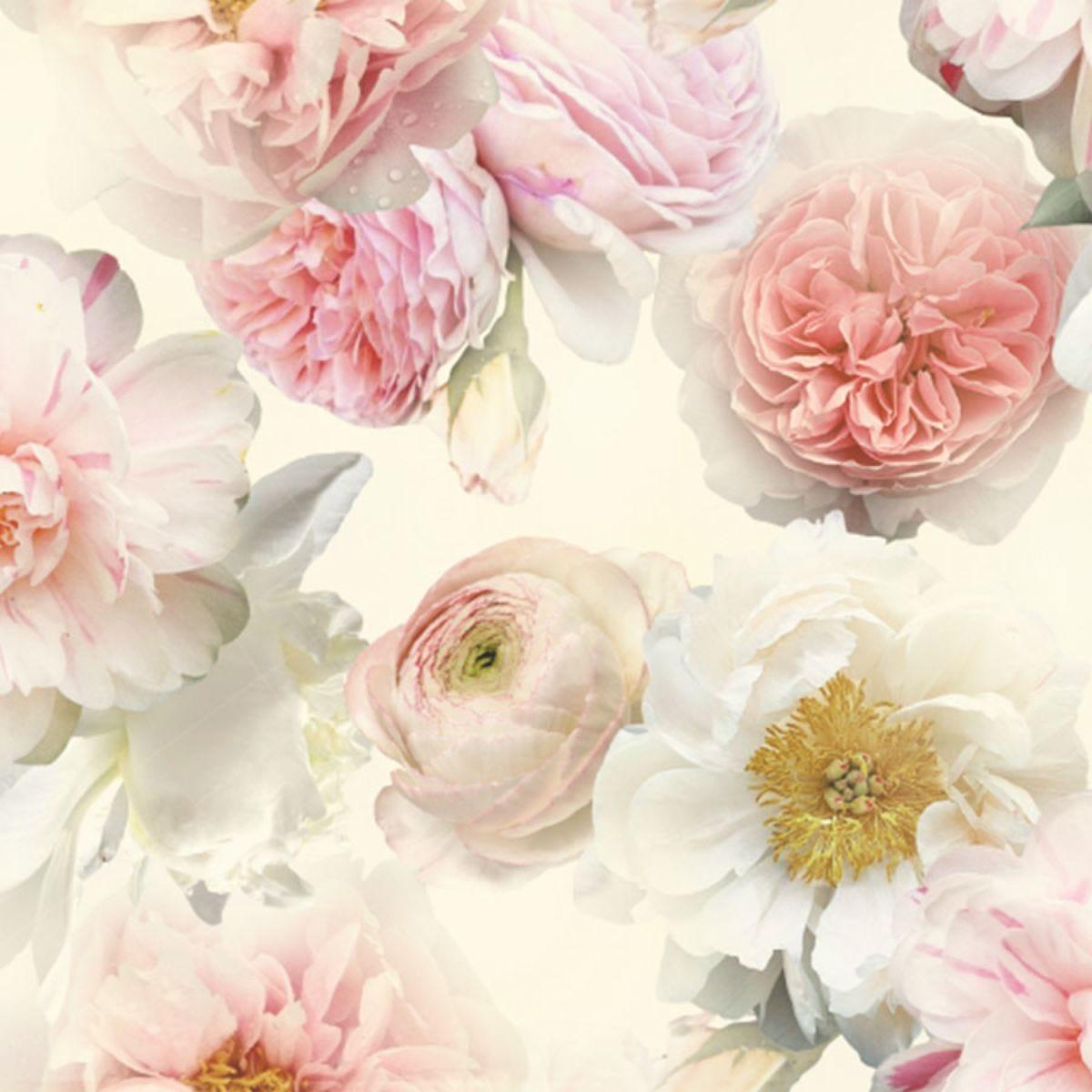 Arthouse Diamond Wallpaper - Floral Blush