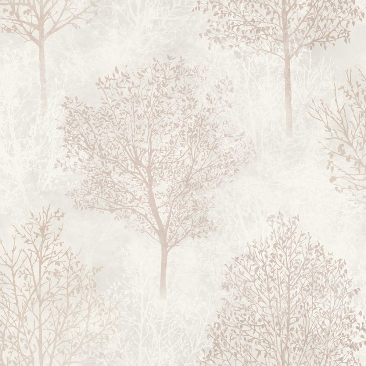 Arthouse Wonderland Trees Wallpaper – Natural