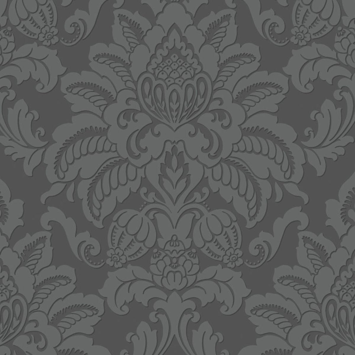 Arthouse Glisten Wallpaper – Gunmetal