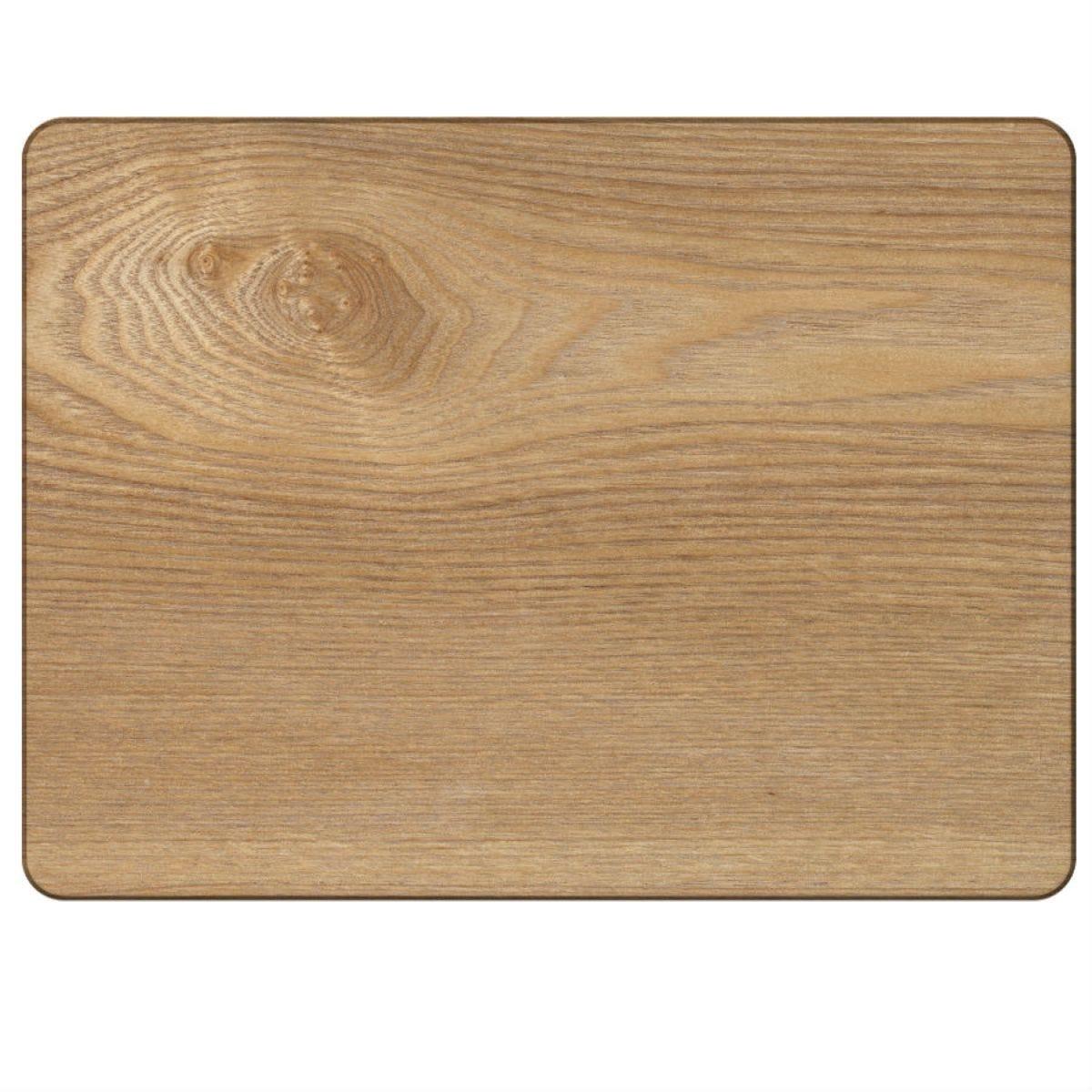 Creative Tops Oak Veneer Placemats - Set of 4