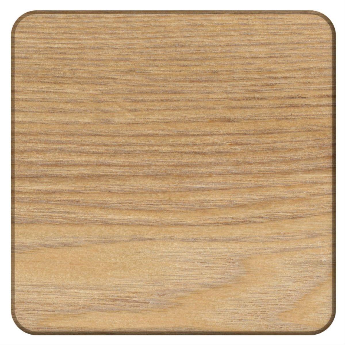 Creative Tops Oak Veneered Coasters - Set of 4