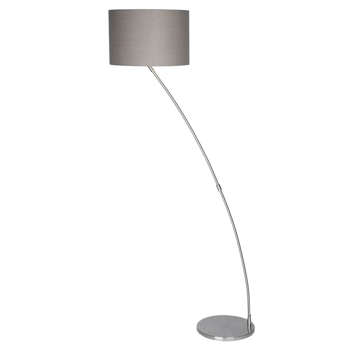 Village At Home Curve Floor Lamp - Chrome