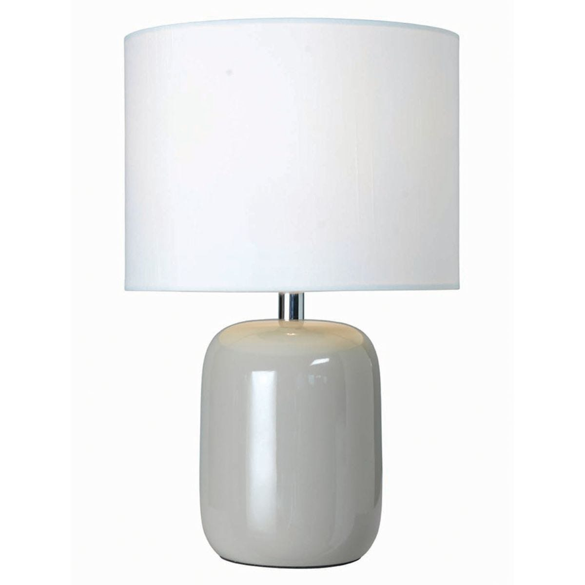 Village At Home Fenda Table Lamp - Putty