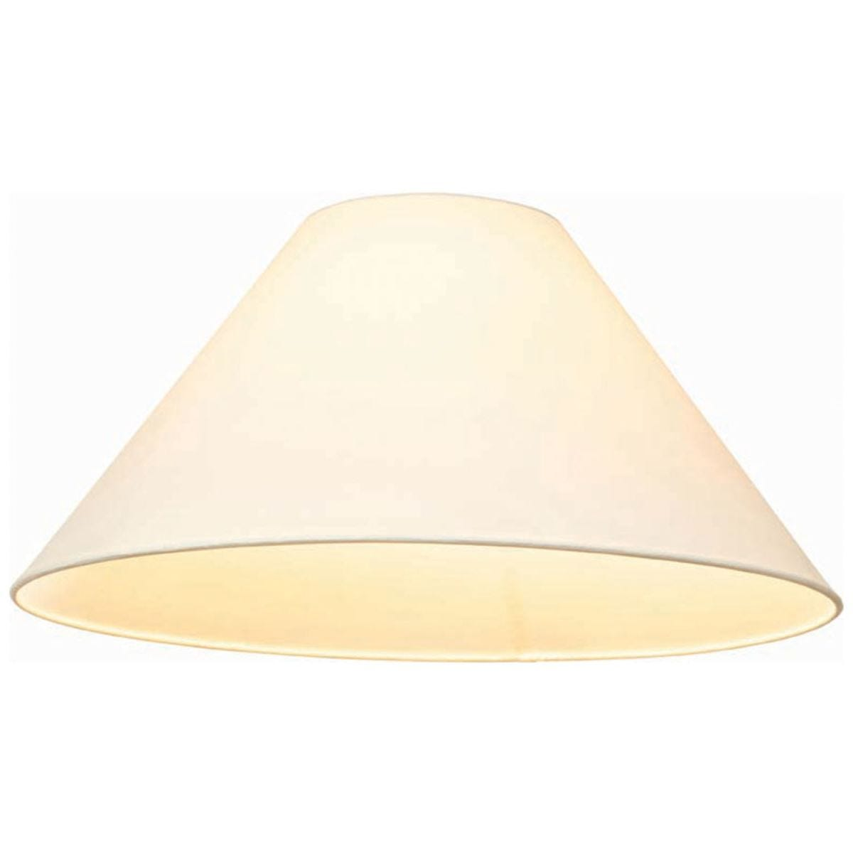Village At Home Cotton Coolie Lamp Shade - 10-Inch