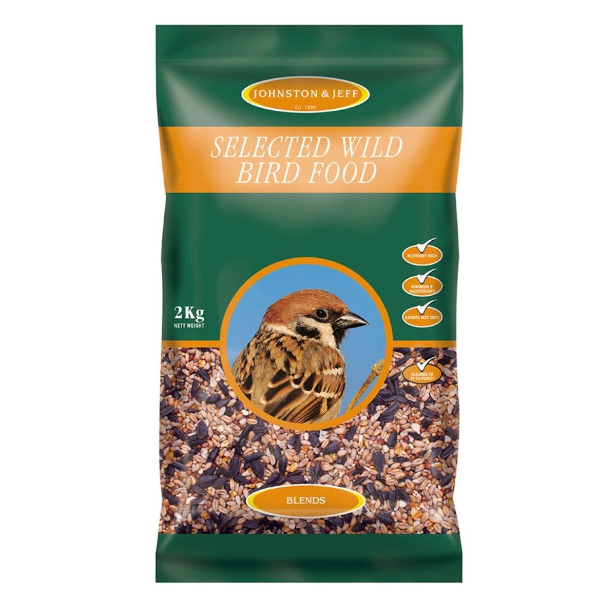 Johnston & Jeff Wild Bird Food – 2kg