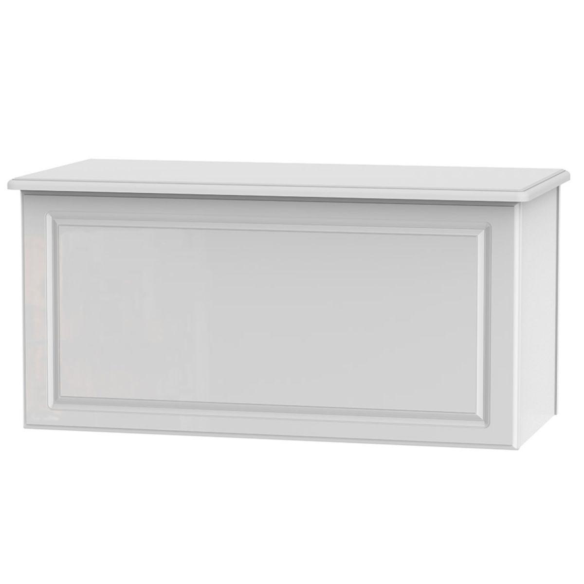 Berryfield Blanket Box - White