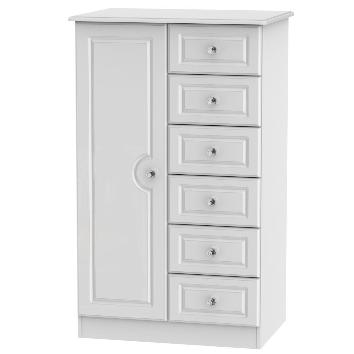 Berryfields Children's Wardrobe - White