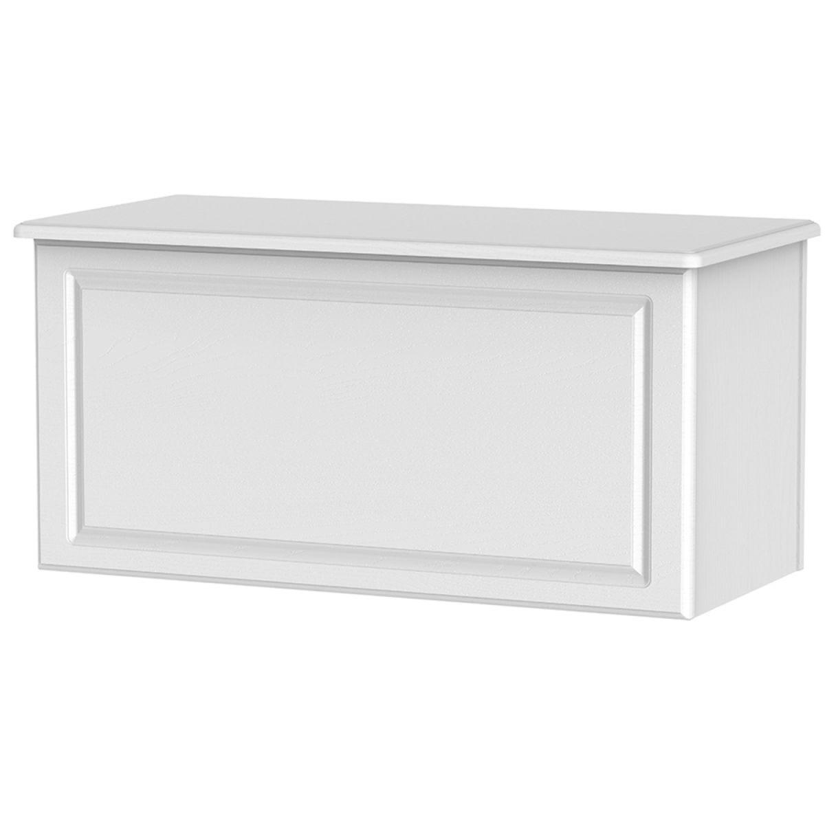 Montego Blanket Box - White