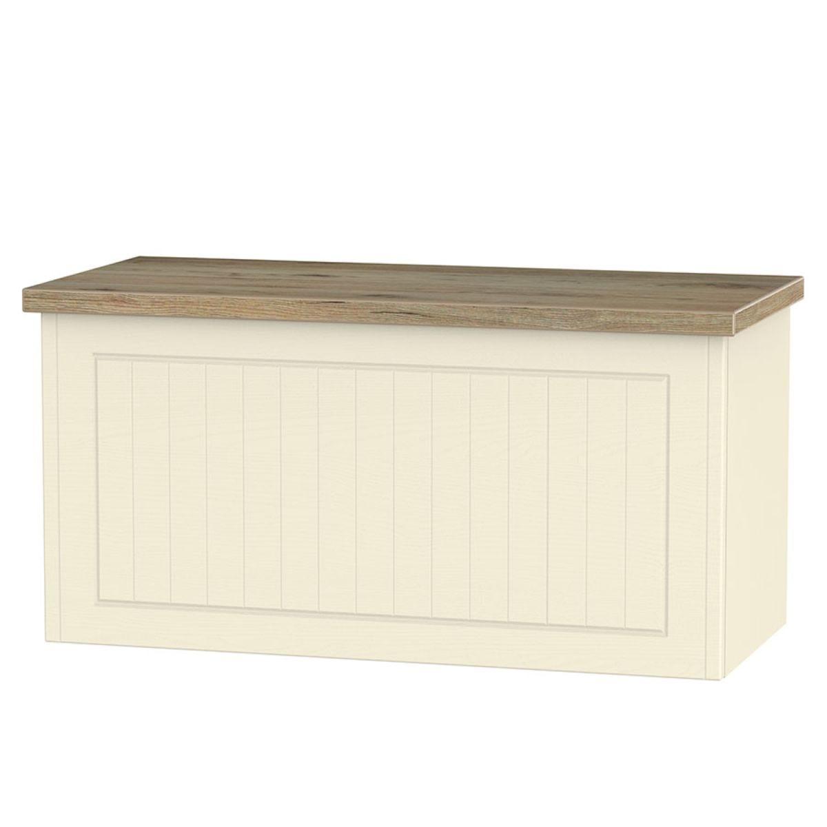 Wilcox Blanket Box - Cream Ash