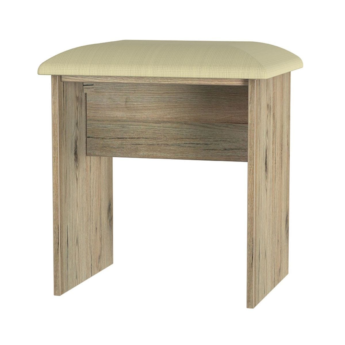 Wilcox Dressing Table Stool - Oak Effect