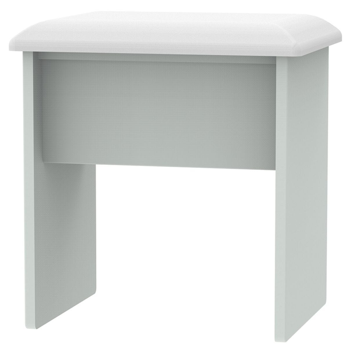 Fourisse Dressing Table Stool - Grey