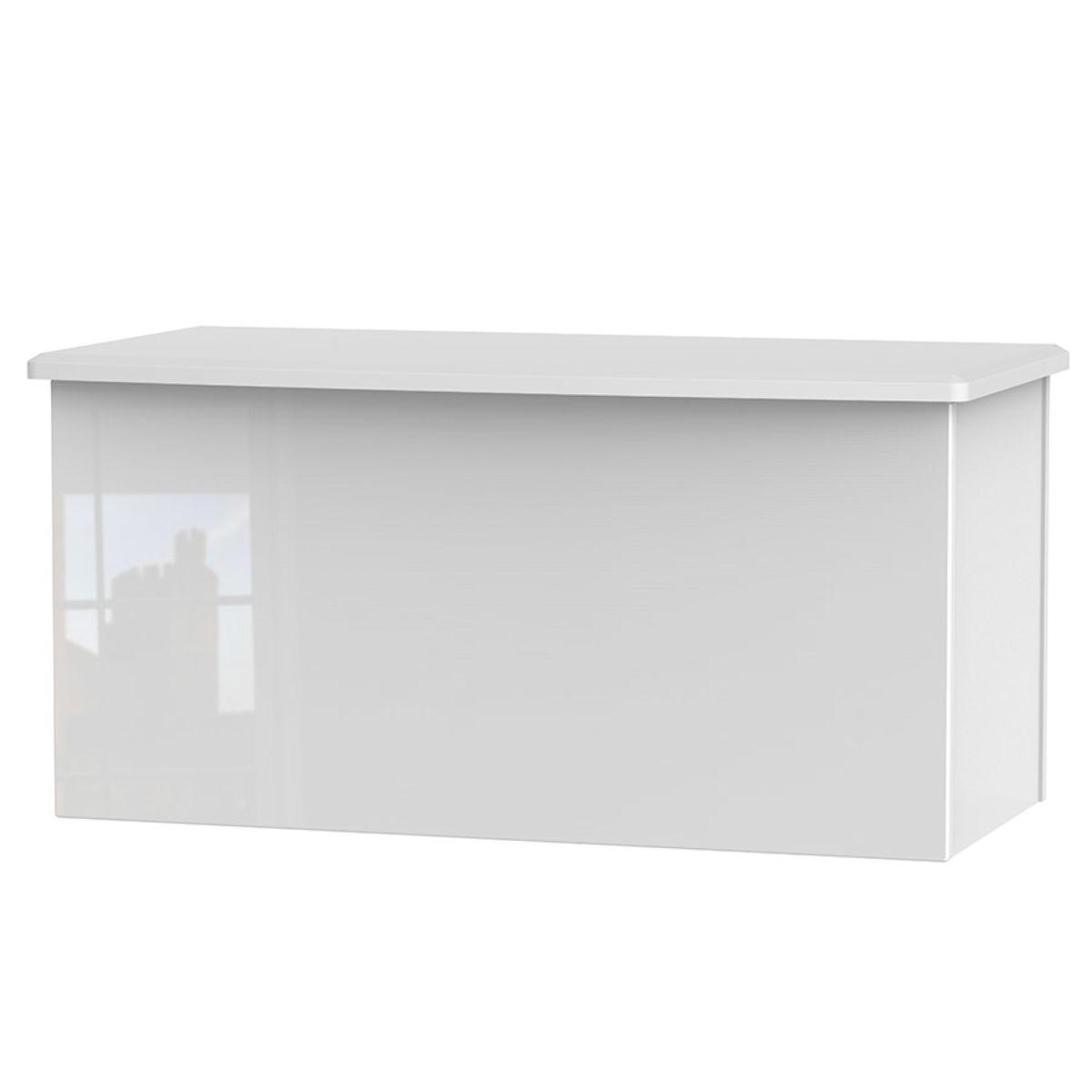 Fourisse Blanket Box - White