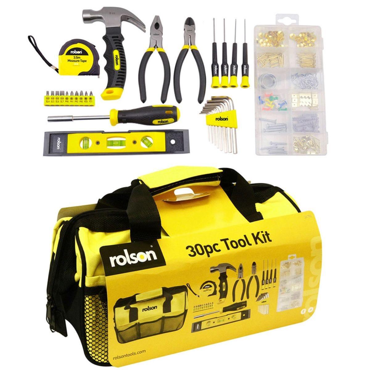 Rolson 30-Piece Tool Kit