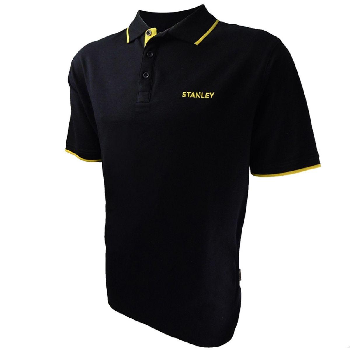 Stanley Workwear Texas Polo Shirt - Black