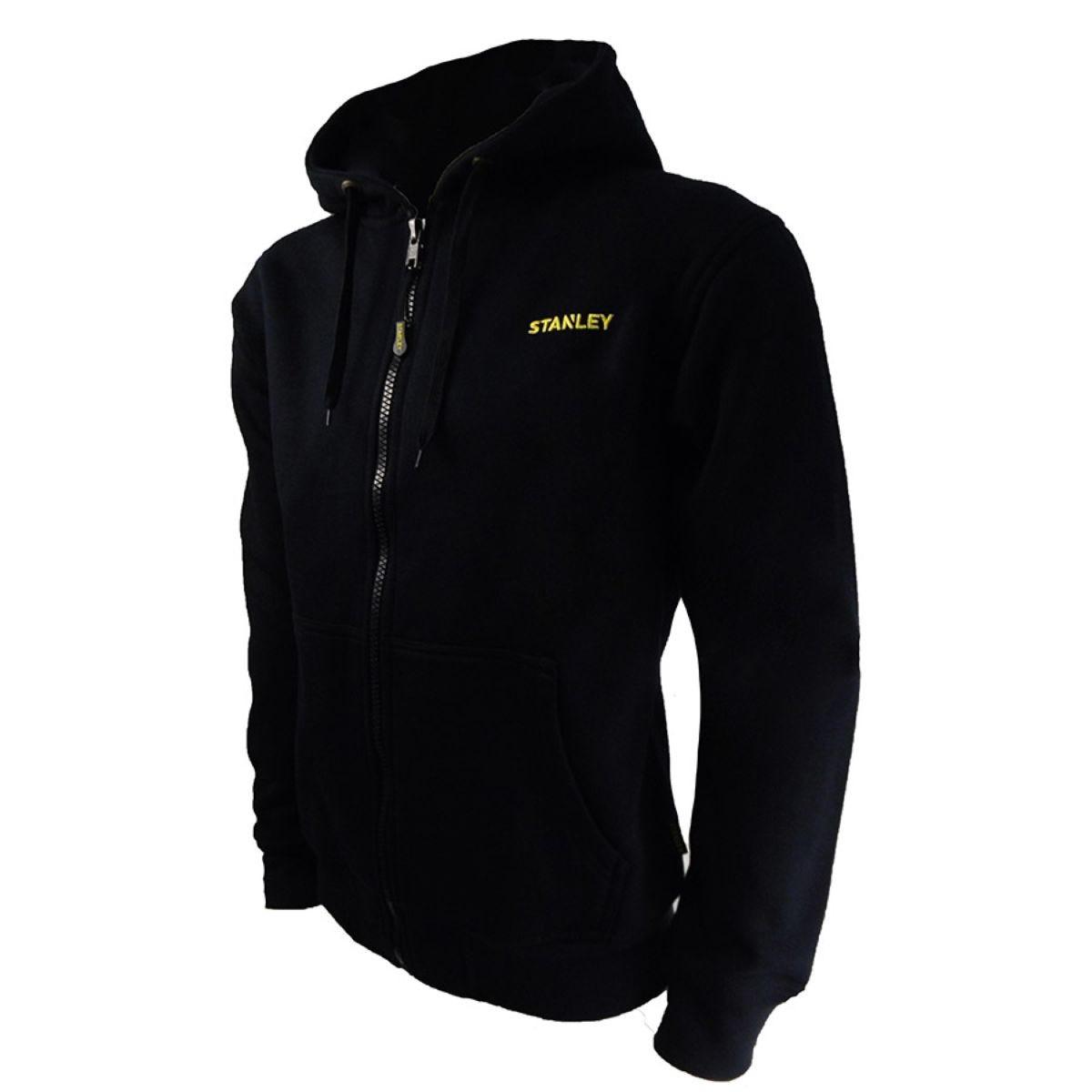 Stanley Workwear Maine Hooded Work Fleece - Black