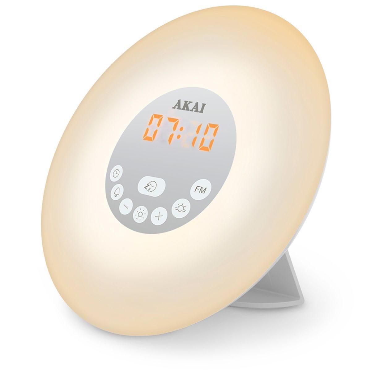 AKAI Wake-Up Alarm Clock Radio