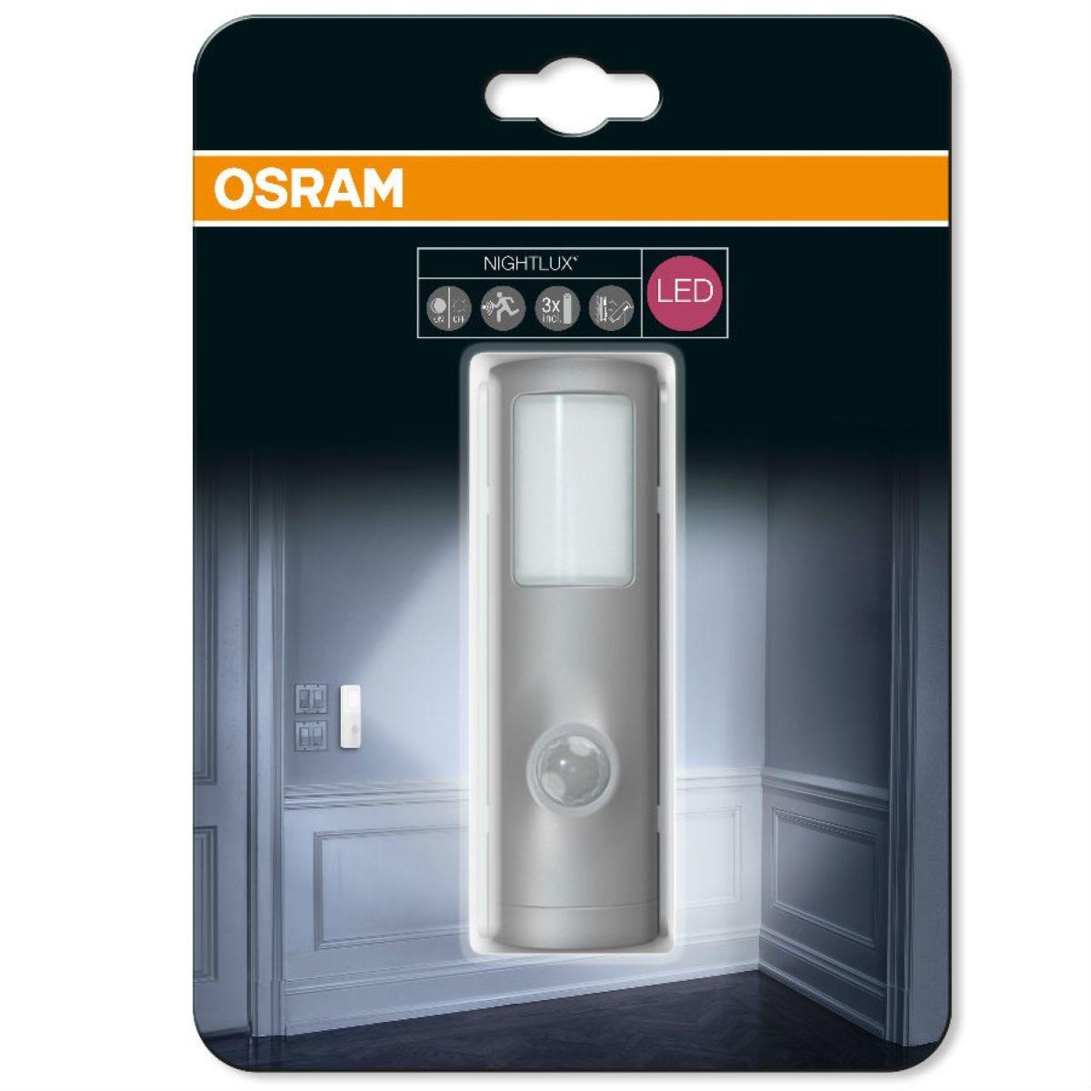 Osram Nightlux Torch Light - Silver