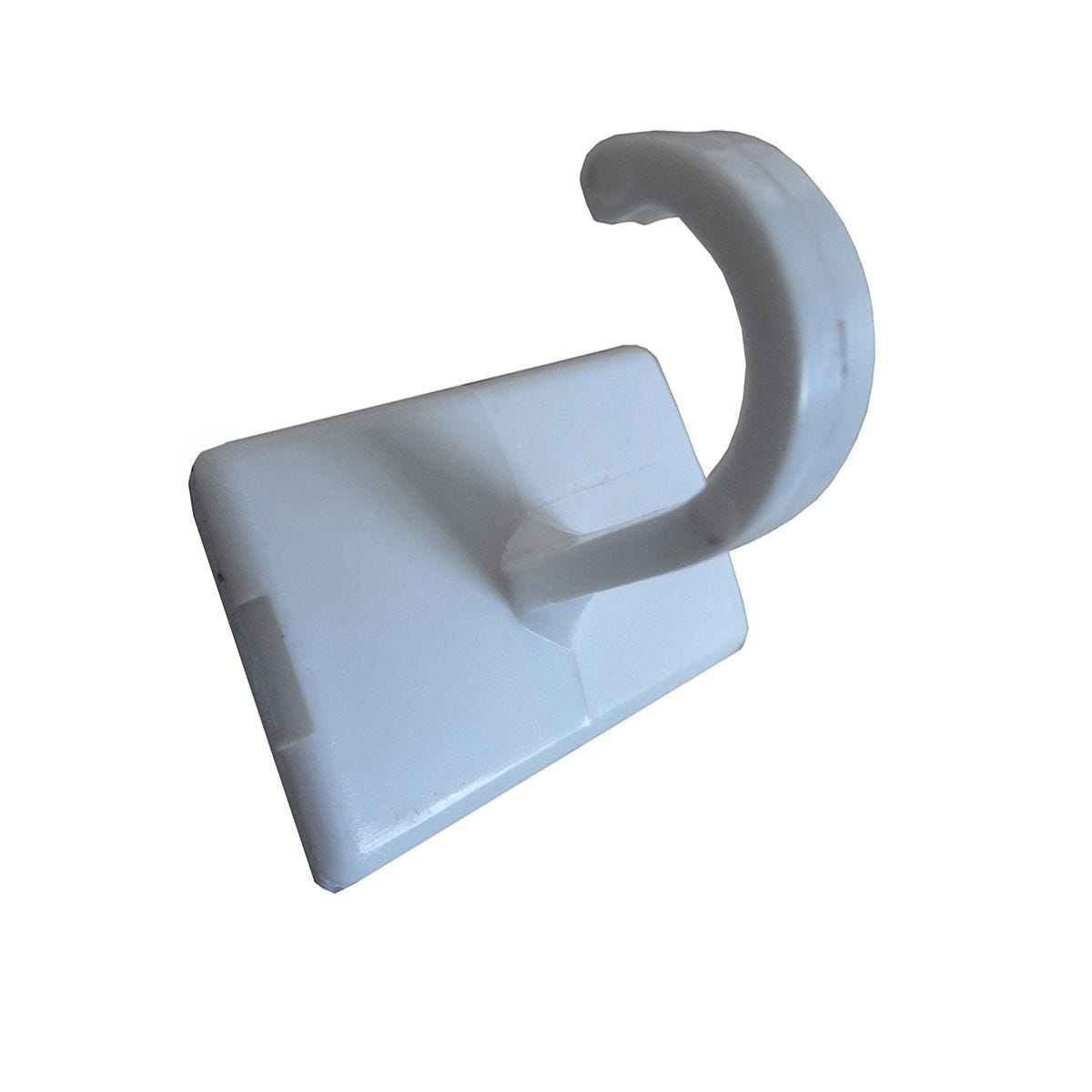 Select Hardware 30mm White Cup Hooks - 4 Pack