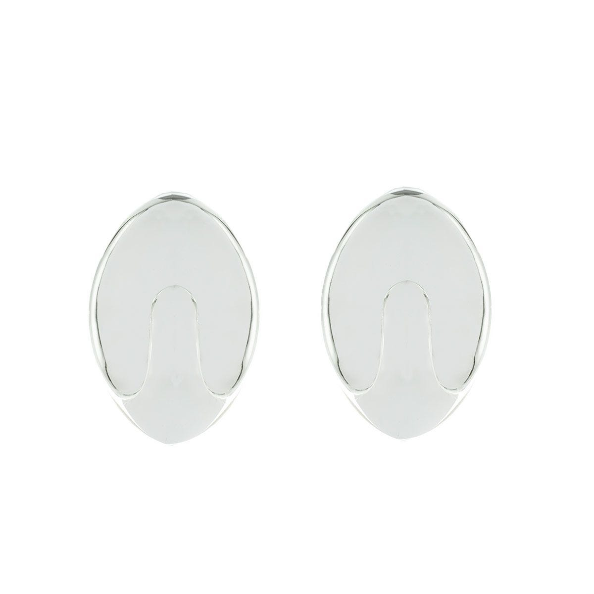 Select Hardware Self-Adhesive Large Oval Hooks Chrome - Pack of 2