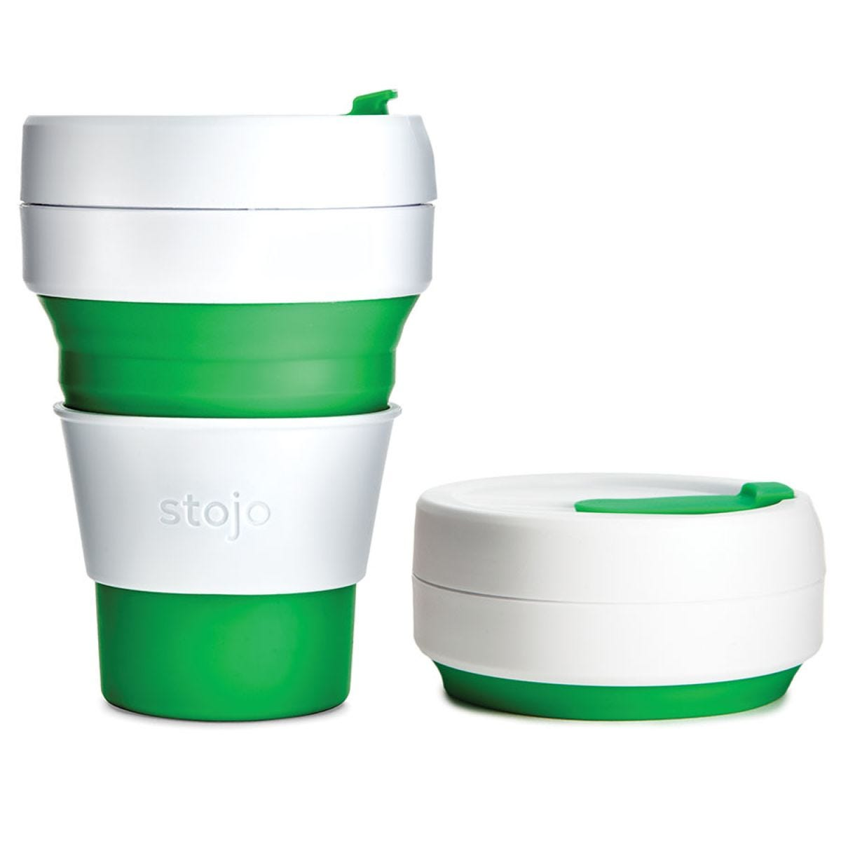 Stojo Collapsible Pocket Cup - Green