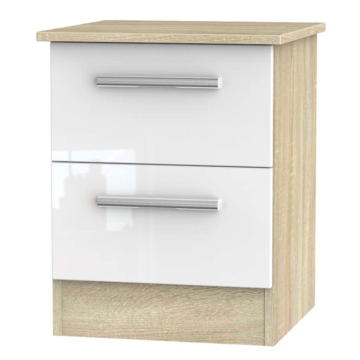 Goodland 2-Drawer Cabinet - White