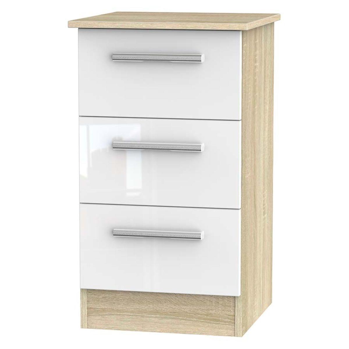 Goodland 3-Drawer Cabinet - White