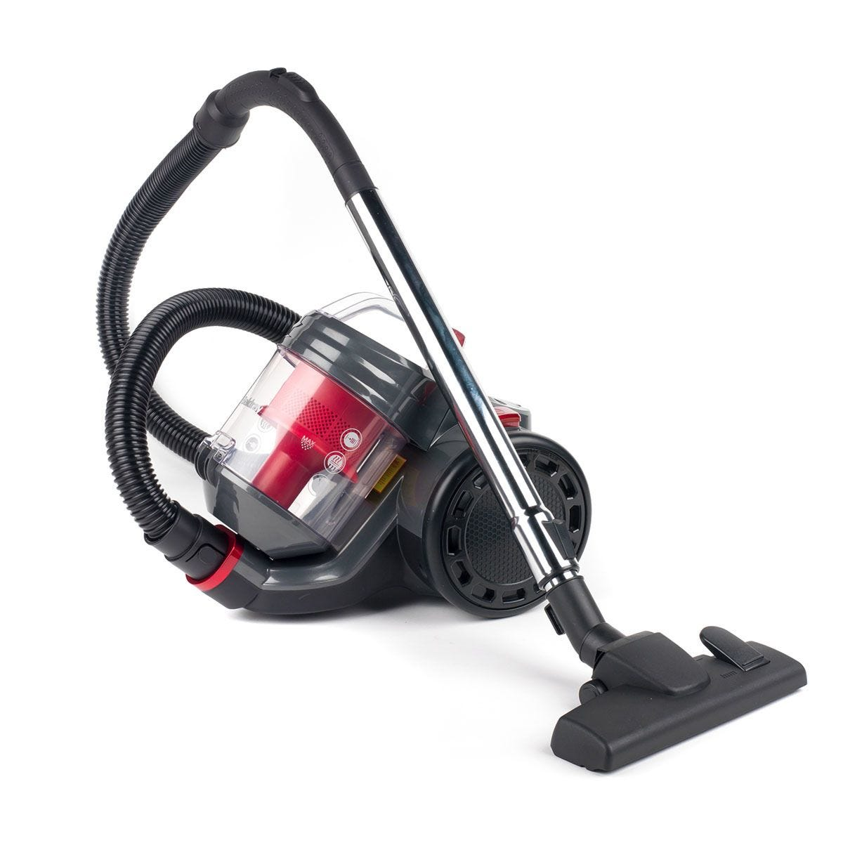 Beldray BEL0700 Compact Vac Lite 2L Cyclonic Bagless Cylinder 700W Vacuum Cleaner – Red / Graphite