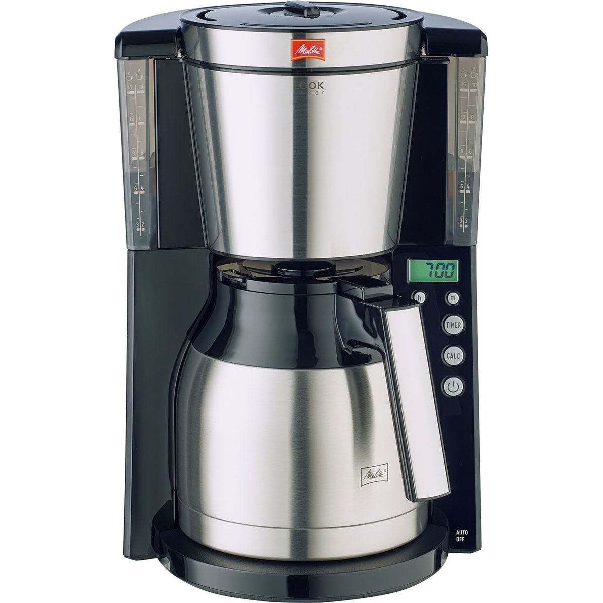 Melitta Look IV Therm Timer Coffee Maker - Black