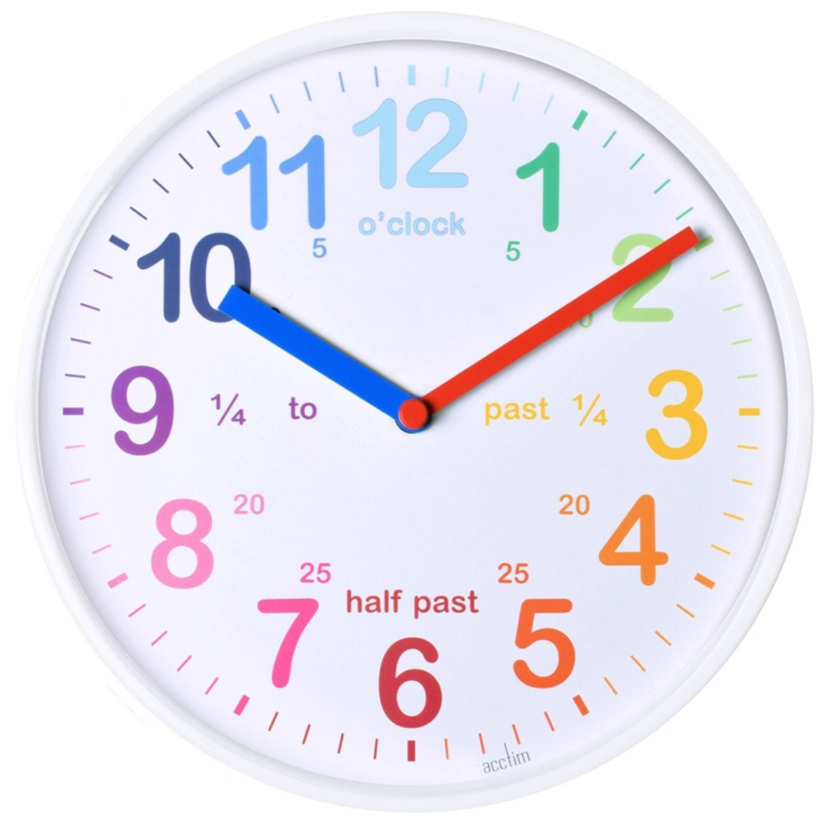 Wickford Wall Clock - White