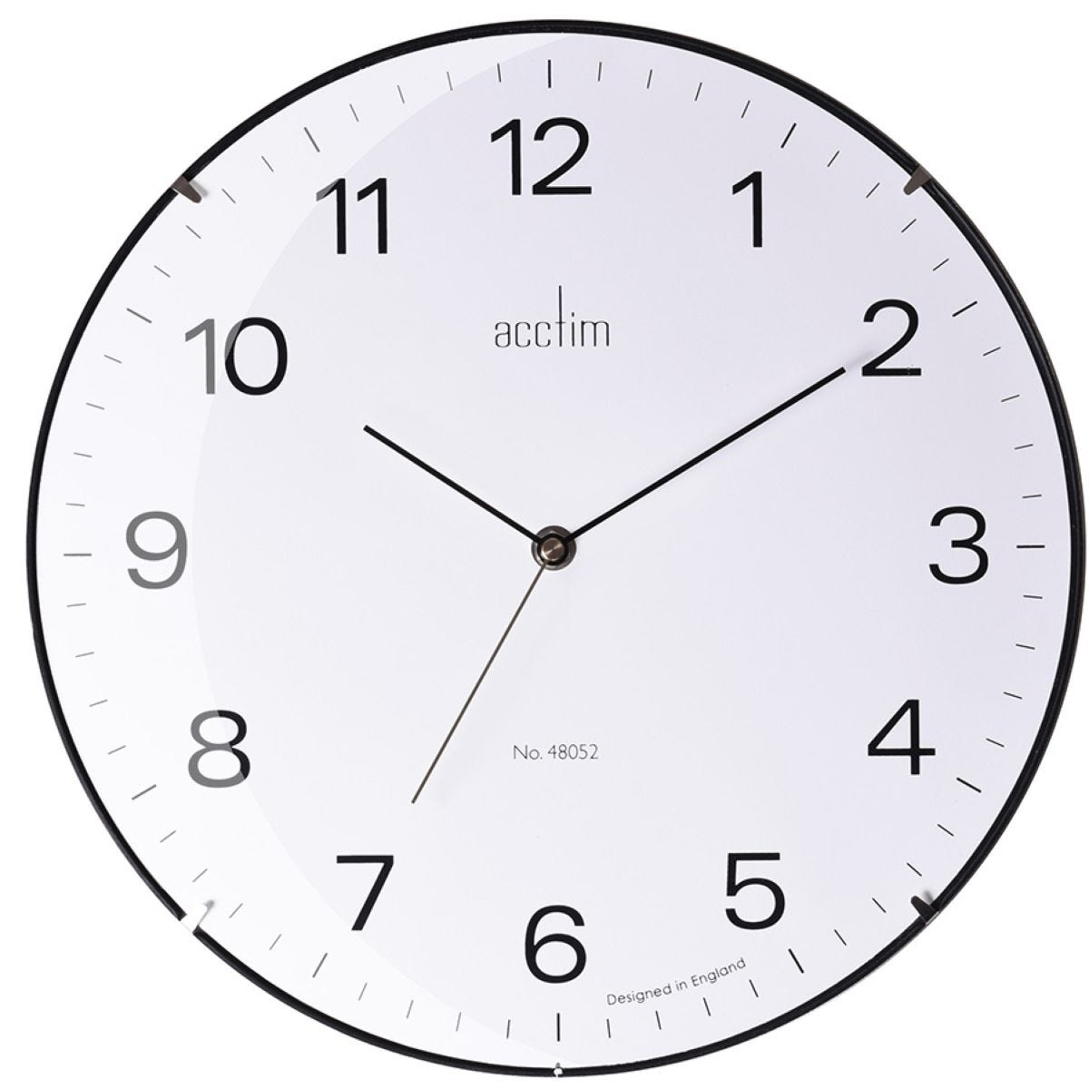 Acctim Marcos Glass Wall Clock