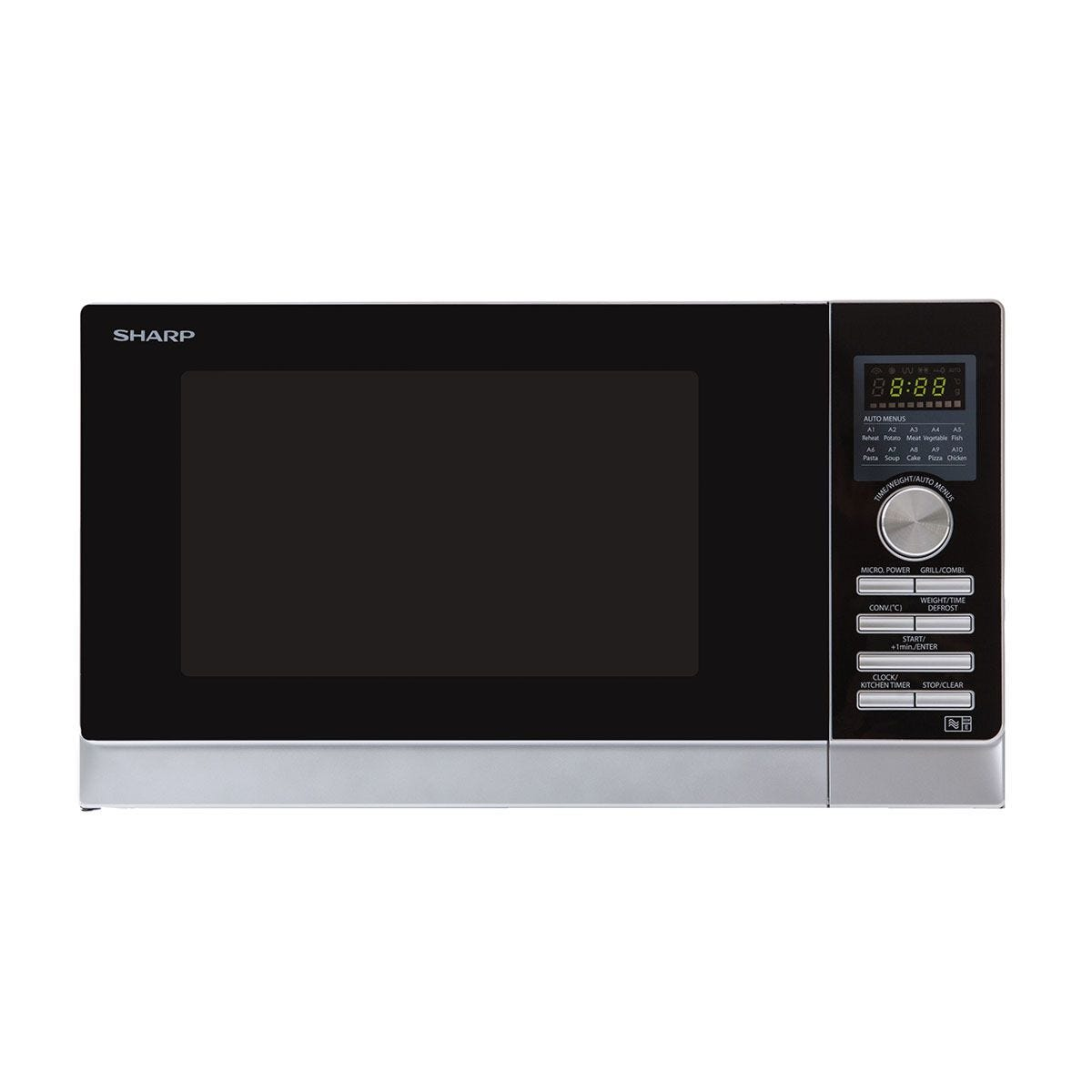Sharp R843SLM 25L 900W Convection Microwave - Stainless Steel