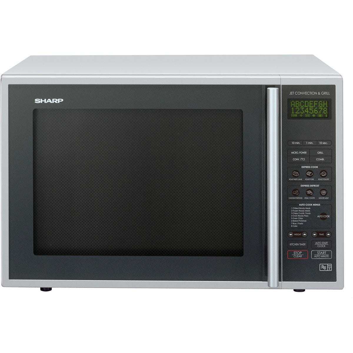 Sharp R959SLMAA 40L 900W Convection Microwave with 1400W Quartz Grill - Silver