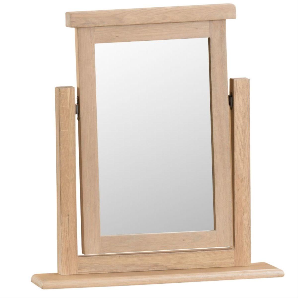 Wisborough Wooden Dressing Table Trinket Mirror