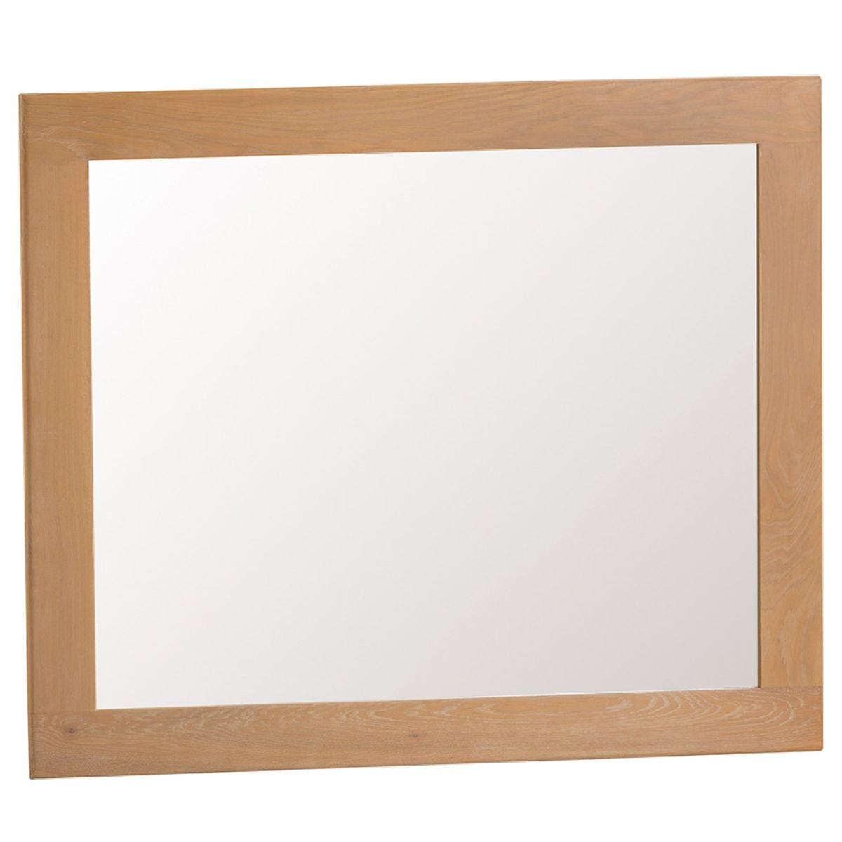 Graceford Ready Assembled Large Oak Wall Mirror