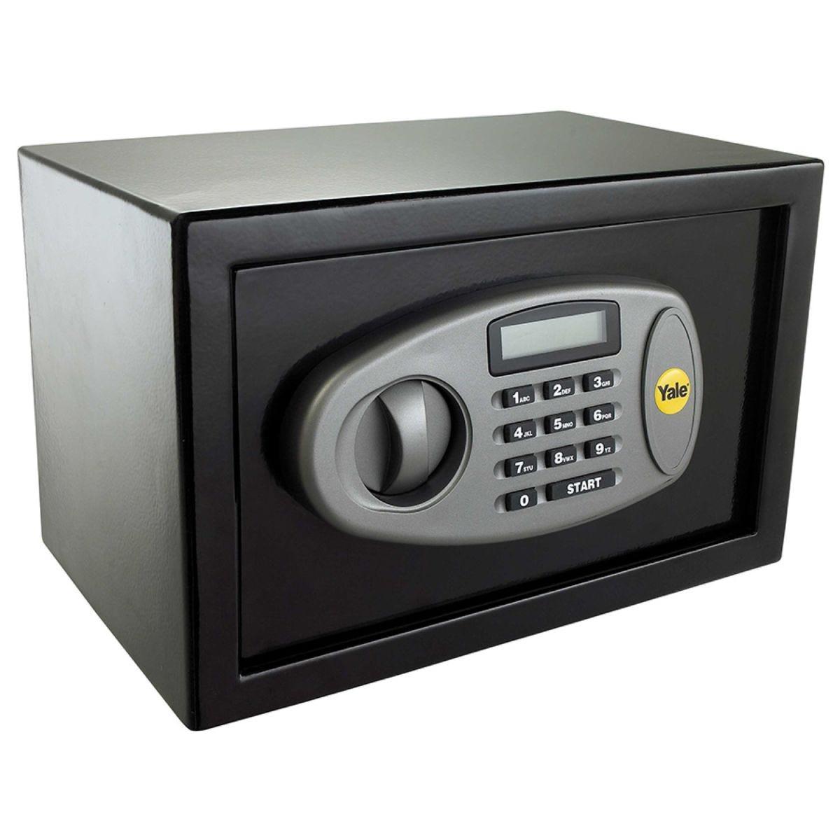 Yale Medium Digital Safe - Black