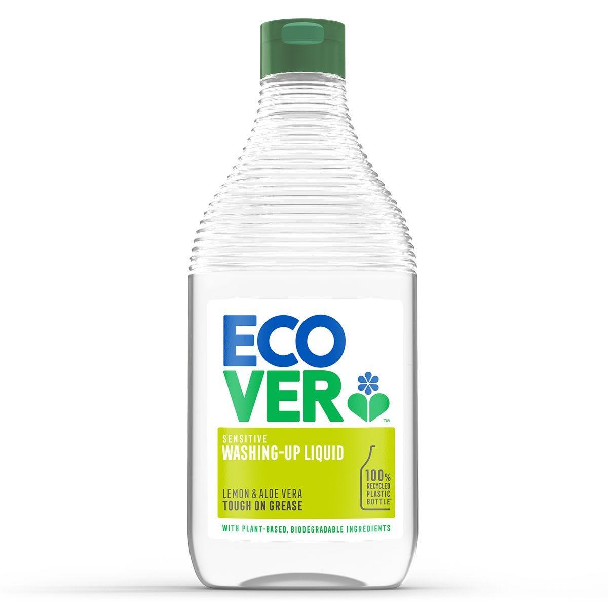 Ecover Washing Up Liquid 950ml - Lemon and Aloe