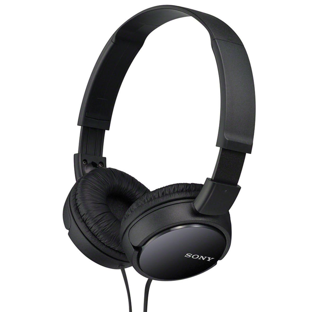 Sony ZX110 Series Foldable Stereo Headphones - Black