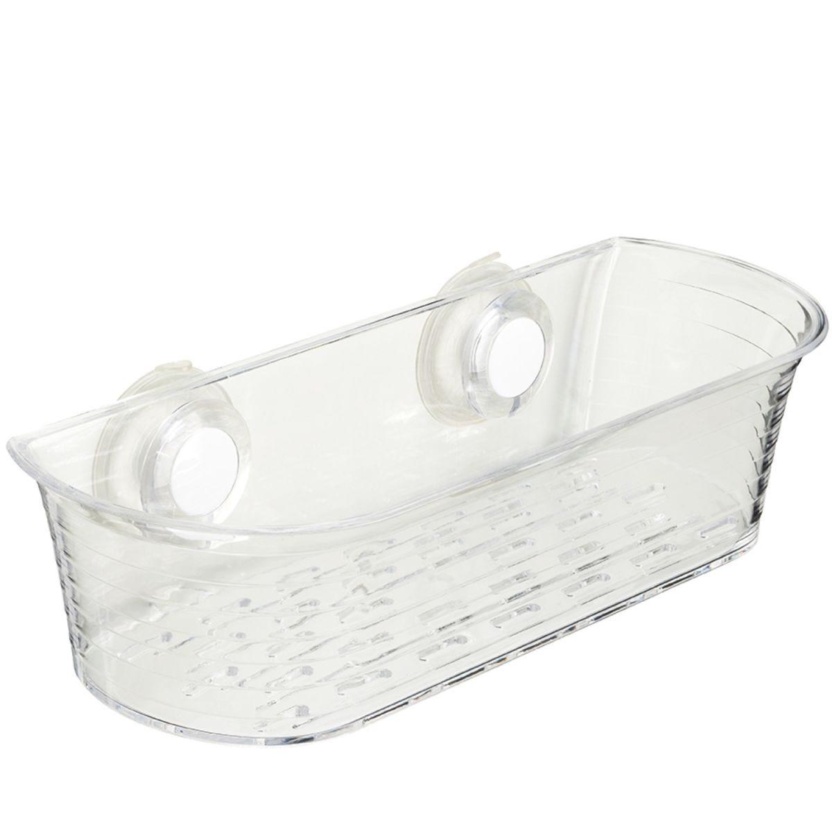 Croydex Push 'N' Lock Shower Basket