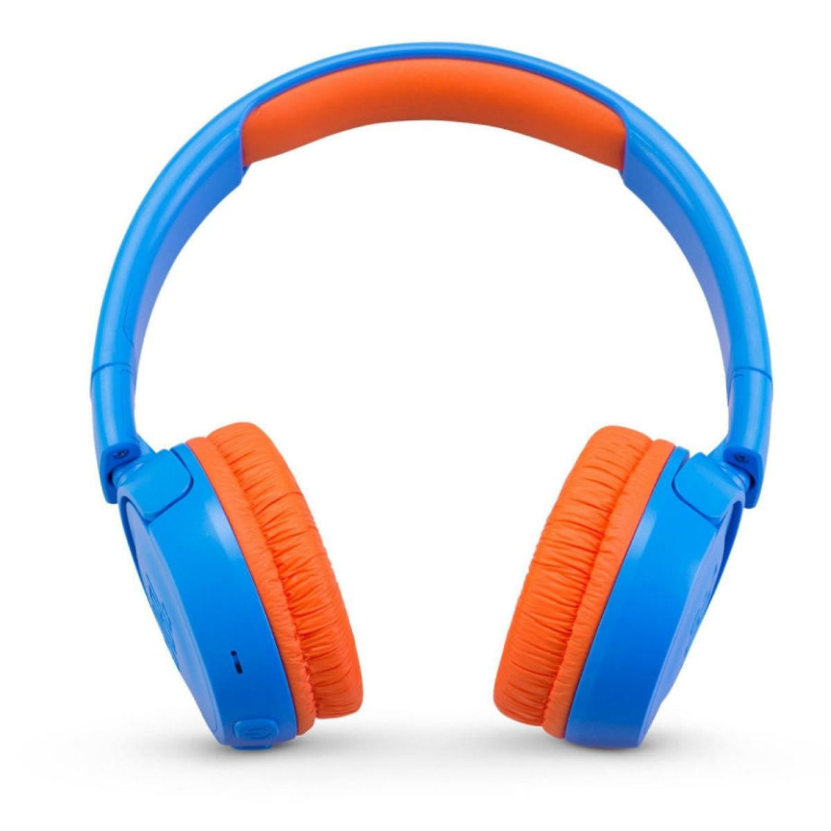 JBL JR300 Kids' Portable On-Ear Headphones - Blue/Orange