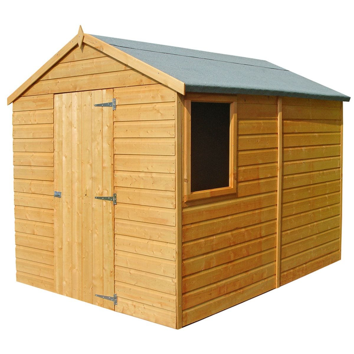 Shire Durham 6ft x 8ft Wooden Apex Garden Shed