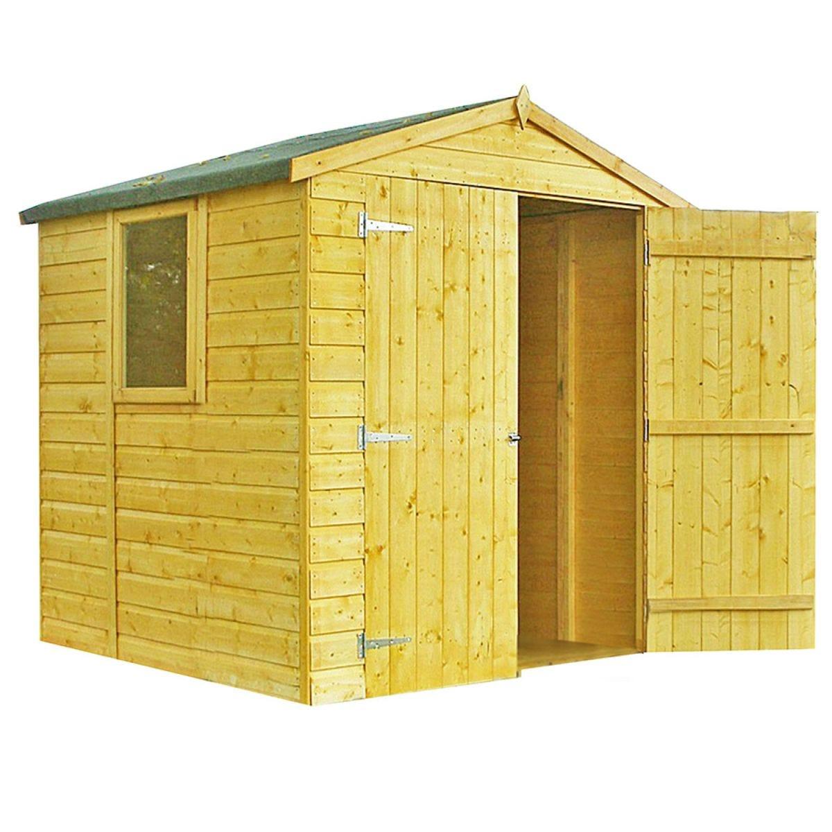 Shire Arran 6ft X 6ft Wooden Apex Garden Shed Robert Dyas