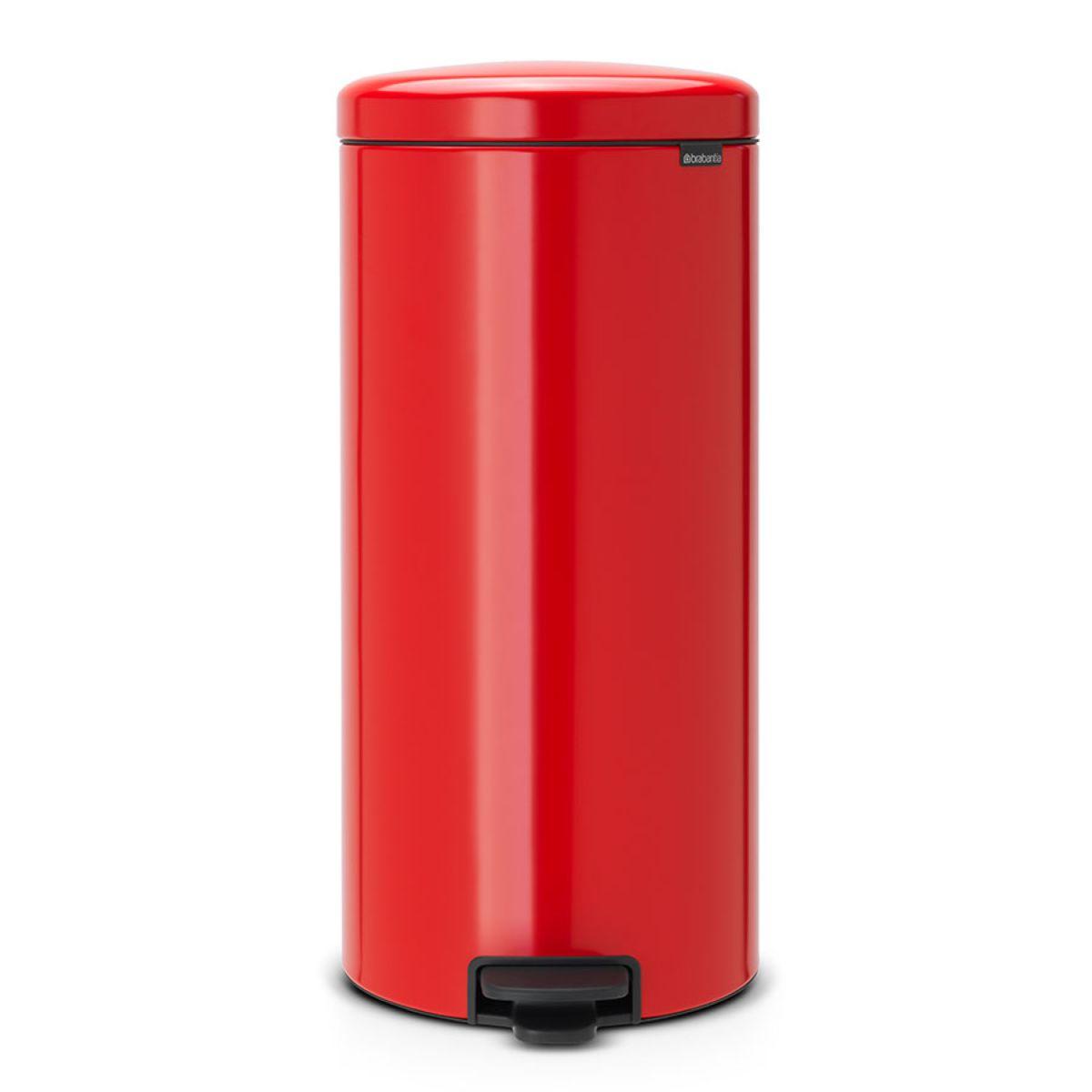 Brabantia newIcon 30L Pedal Bin - Passion Red