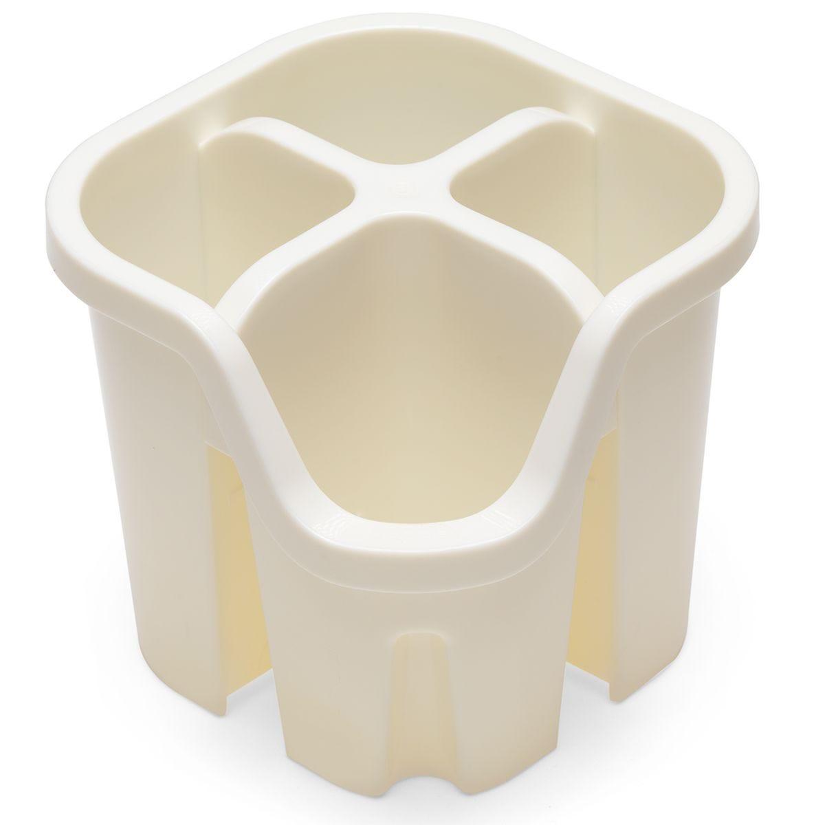 Addis Plastic Cutlery Drainer - Cream