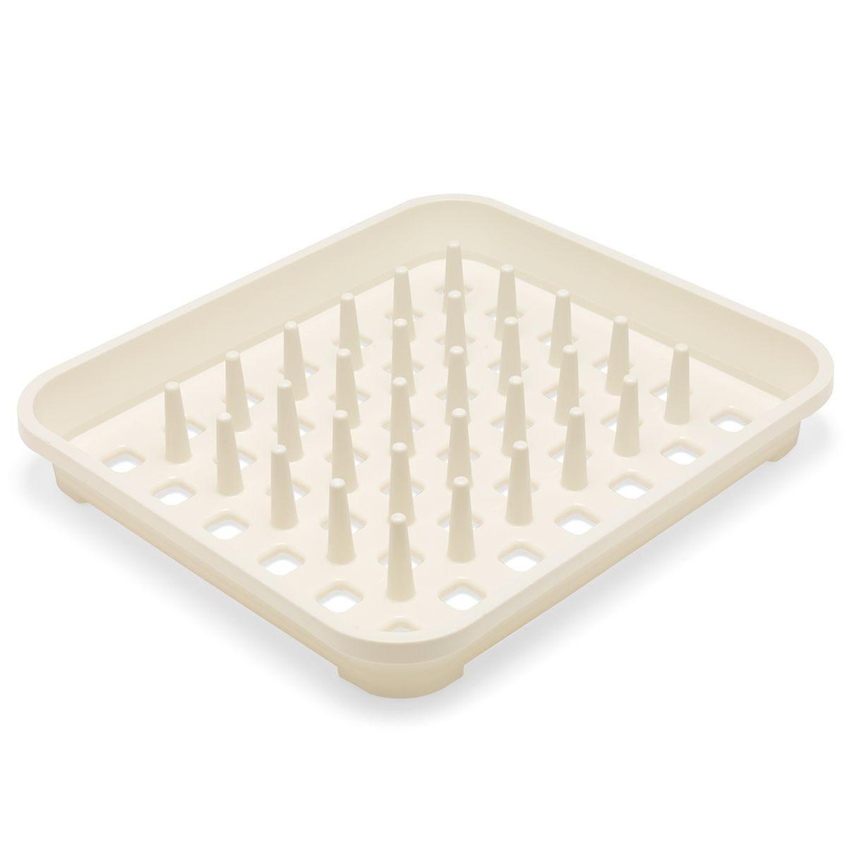 Addis Plastic Dish Drainer - Cream