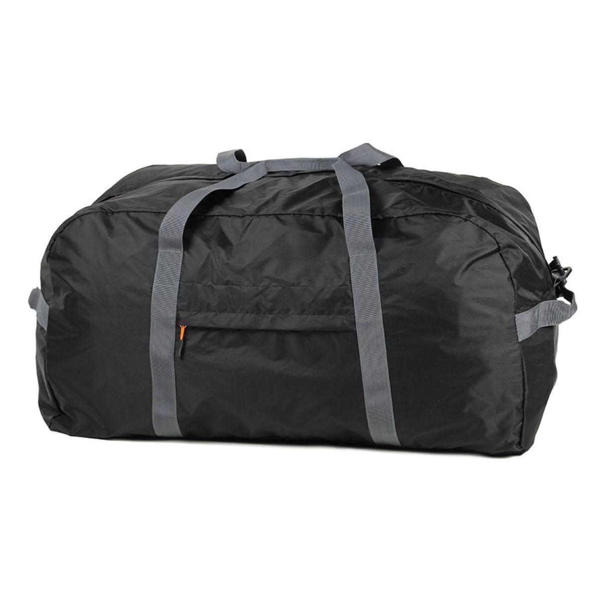 Members Medium Ultra Lightweight Foldaway Holdall - Black
